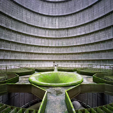 YVES MARCHAND & ROMAIN MEFFRE INDUSTRY Cooling Tower, Power Plant, Monceau-sur-Sambre, Belgium, 2011 © YVES MARCHAND & ROMAIN MEFFRE